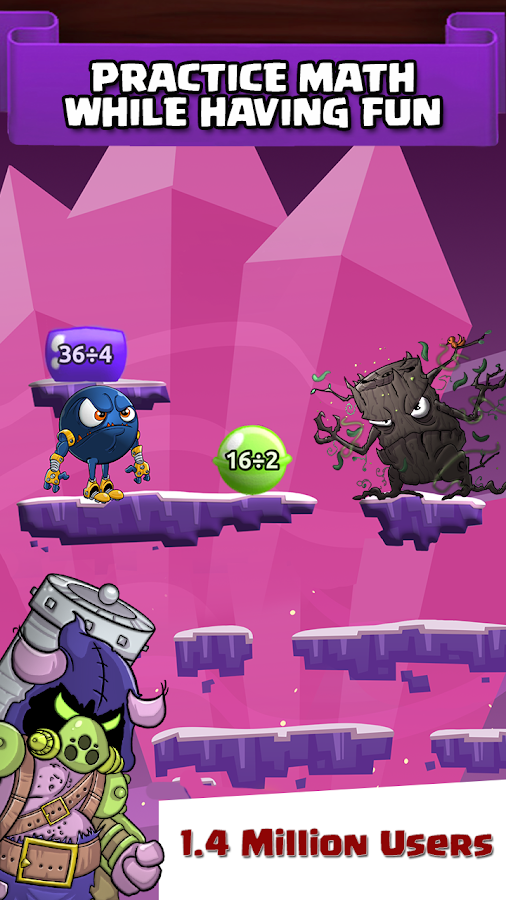 Monster Math – Free Math Game- screenshot