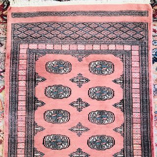Rose Wool Bokhara Runner