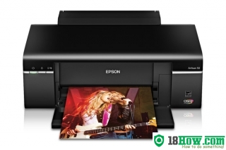 How to Reset Epson Artisan 50 flashing lights error