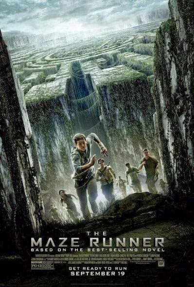 Poster Of English Movie The Maze Runner (2014) Free Download Full New Hollywood Movie Watch Online At Alldownloads4u.Com