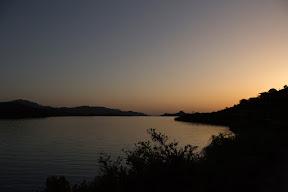 Sunset view along Haro River, Khanpur Dam