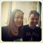 Lunch with @DJGrothe last week. We were tired post-TAM but we made it happen for @automathomas' bday. :)