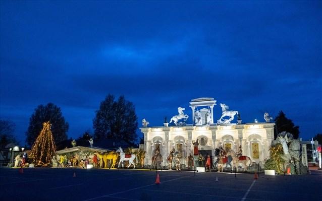 Στη Θεσσαλονίκη η μεγαλύτερη φάτνη στην Ευρώπη