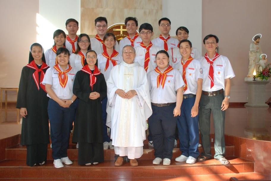 Gx Phú Hòa:Huynh Trưởng giáo xứ mừng bổn mạng