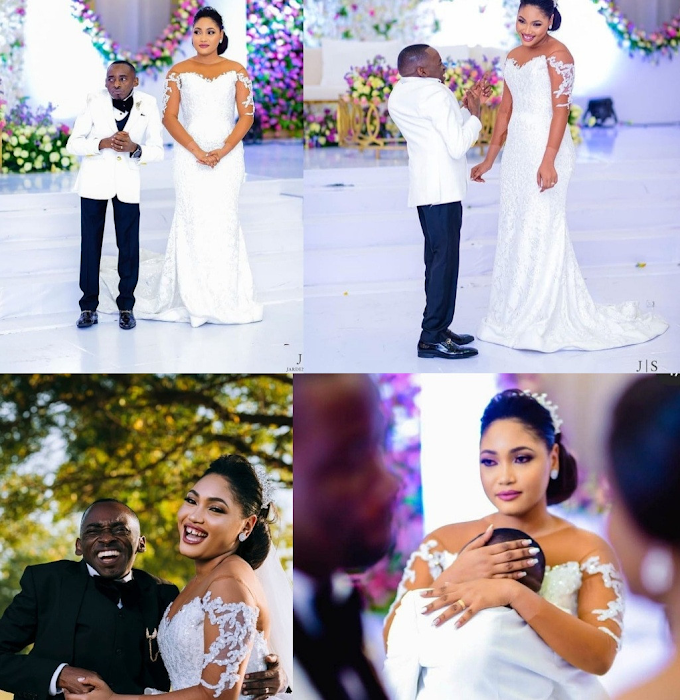 Tanzanian politician, Petro Magoti, hails his new wife, Joyce, on IG after tying the knot (photos)