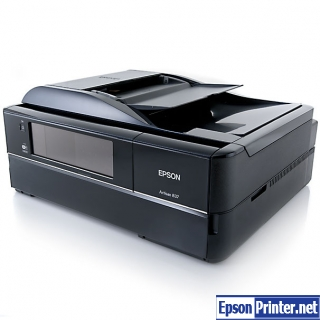 How to reset Epson Artisan 837 with software