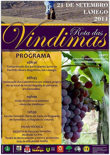 Programa - Rota das Vindimas - 21 de Setembro de 2014 - Lamego