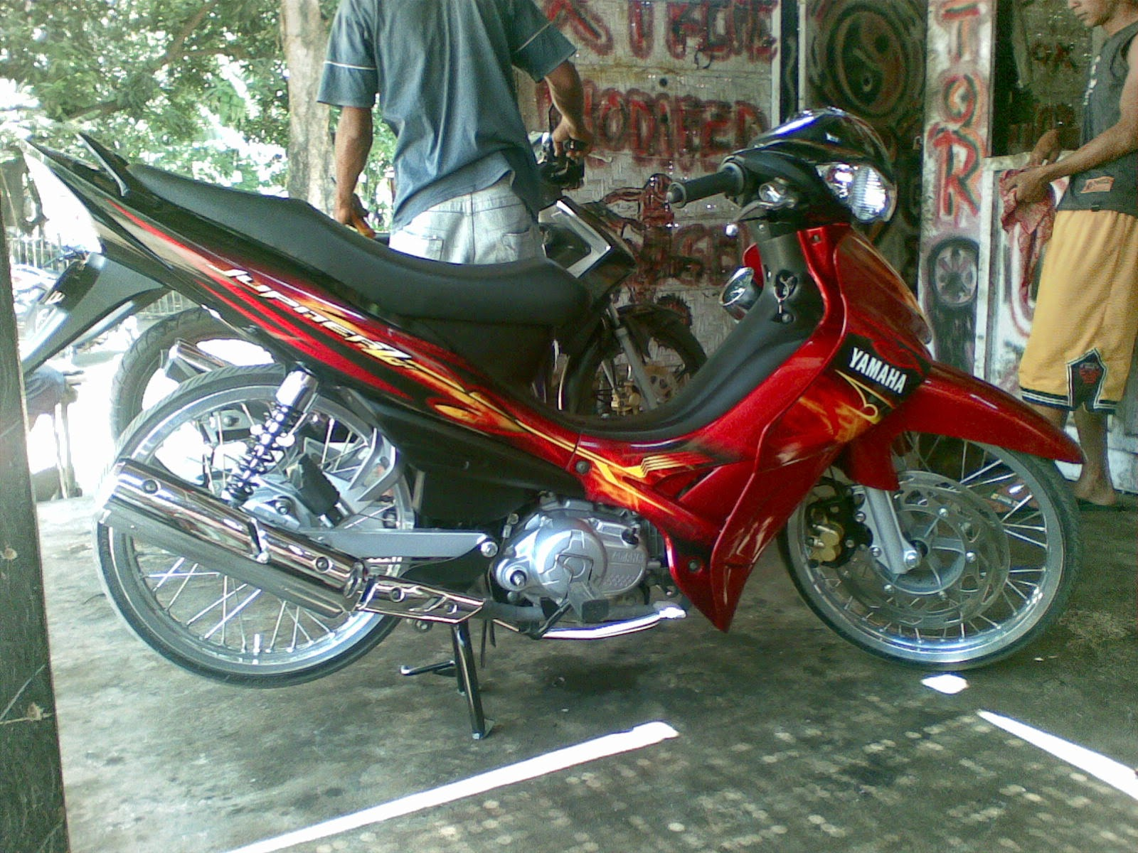 jupiter z modifikasi road race