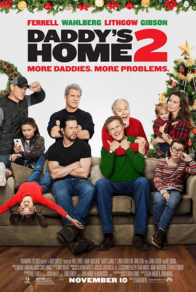 Daddy's Home 2 2017 brrip 720p 1080p