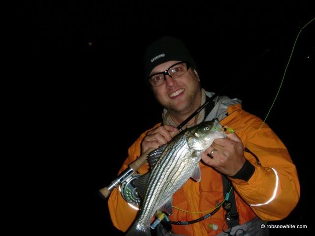Striped bass wading jacket