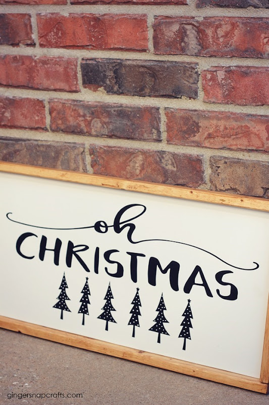 oh christmas tree sign