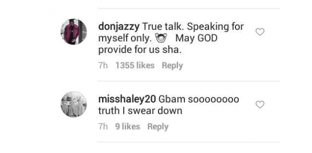 """May God Provide For Us"" – Don Jazzy Reacts To Onyeka Nwelue's Claims That He Is Broke"