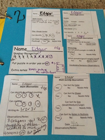 Data Collections/Report Cards   Mrs. Cardenas' Bilingual Prek ...