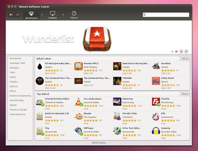 Ubuntu 11.10 Oneiric Ocelot Software Center