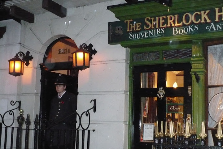 Sherlock Holmes House - London