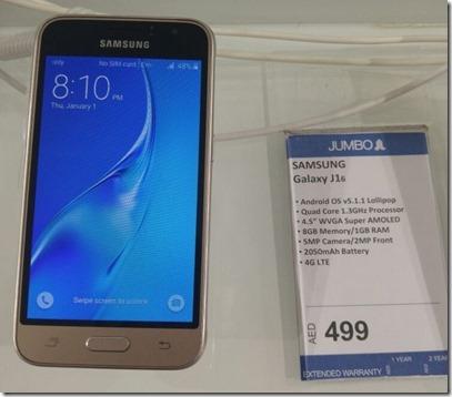 Harga Spesifikasi Samsung Galaxy J1 2016