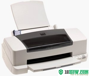 How to reset flashing lights for Epson Color 860 printer