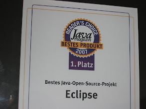 Photo: Award at award winning Zurich lab