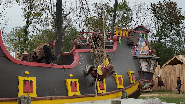 P is for pirates. From the Ohio Renaissance Festival, A-Z