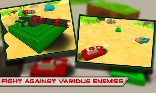 Blocky Tanks Force v1.3 Mod Money