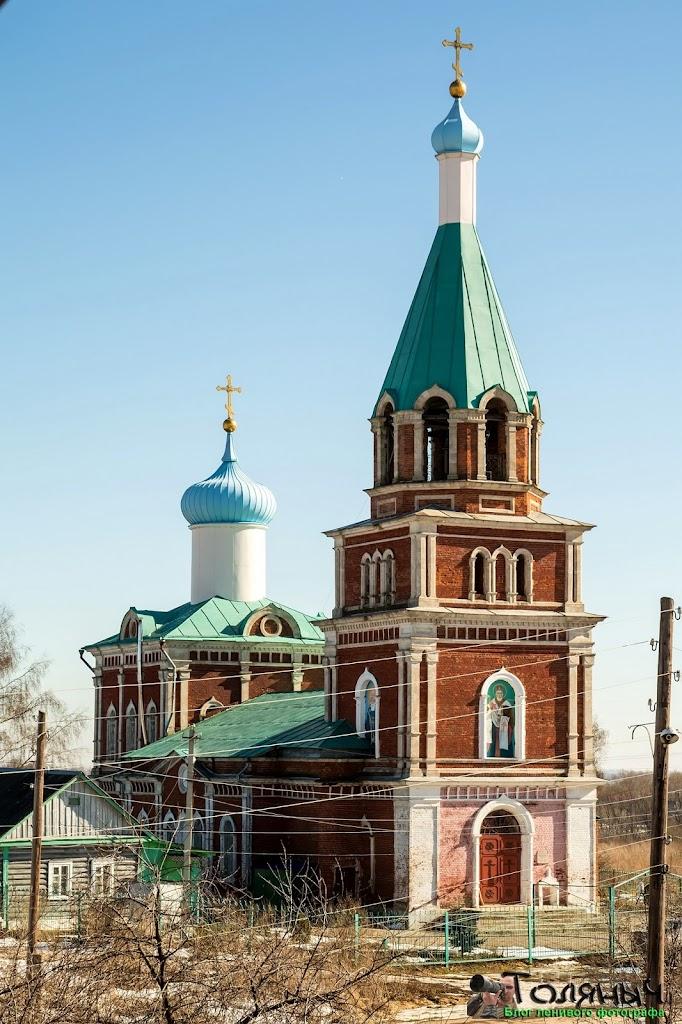 Хотушь. Церковь Николая Чудотворца