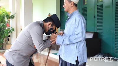 Jaga Sinergitas, Kapolda Jatim Sowan ke Gus Ali pimpinan Ponpes Bumi Sholawat