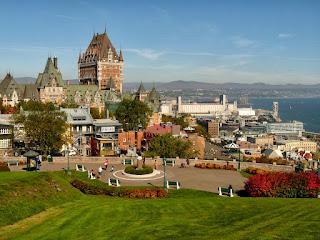 Kanada 4 - Quebec City i wodospad Montmorency