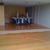 Extending the Timber Flooring