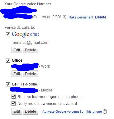 Unable to receive calls - Google Voice Help