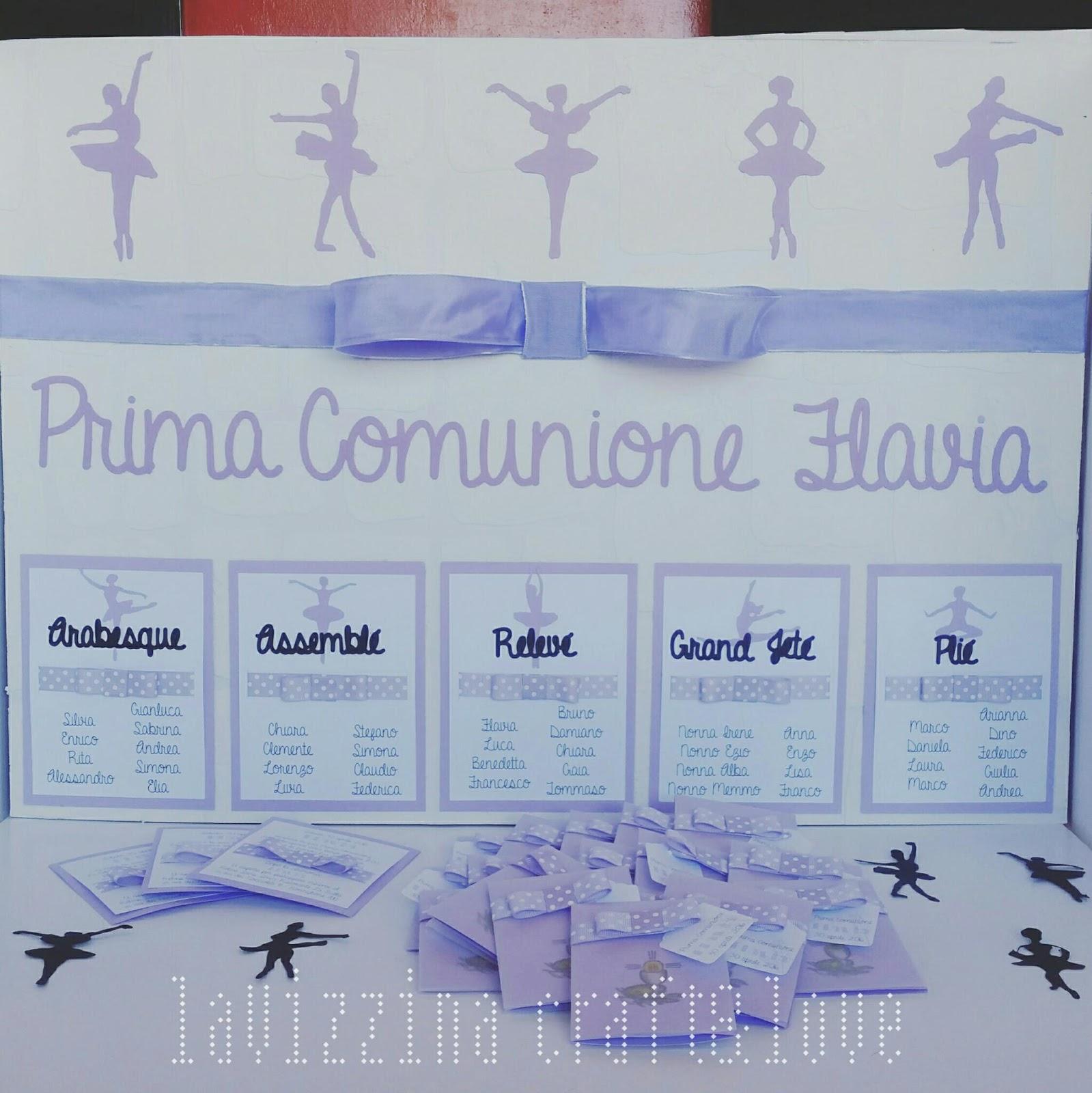 Amato la Vizzina Craft & Love: Prima Comunione in Lilla e Bianco #2 YJ12