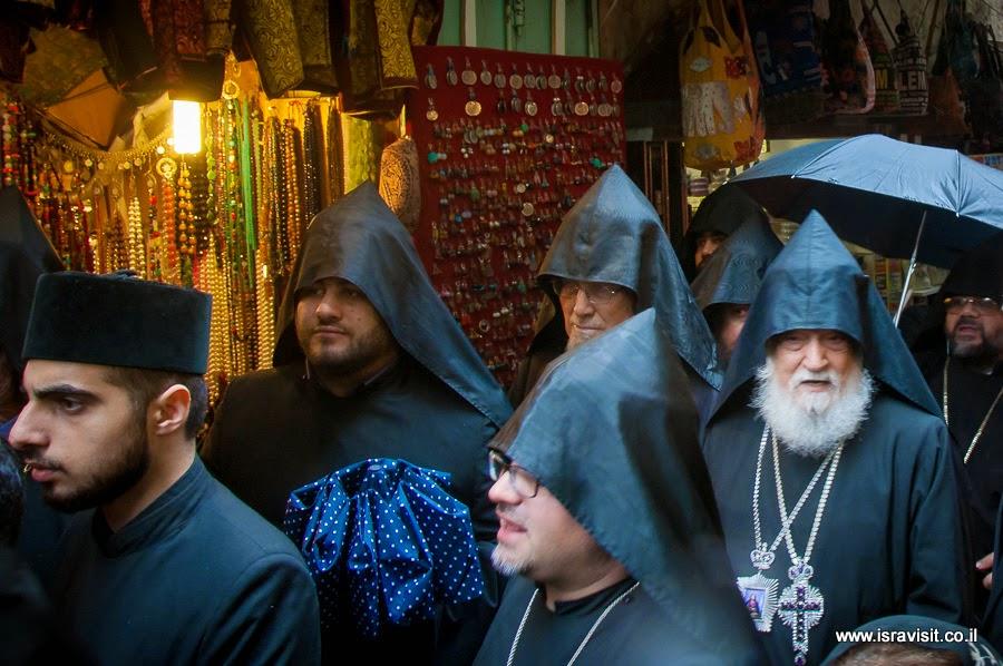 Паломники в старом городе Иерусалима.