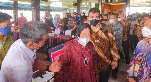 Mensos Apresiasi Dinsos Kapuas, Realisasi Penyaluran Bansos Tertinggi se-Kalteng