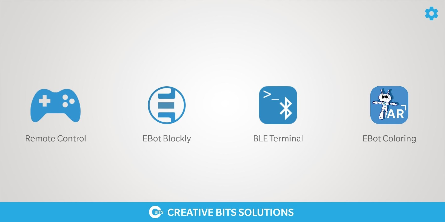 Ebot Blockly- screenshot