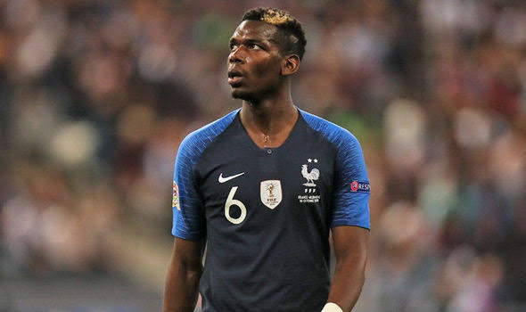 Man United Midfielder, Pogba Ommited From France Squad After Testing Positive For COVID-19,See Squad List