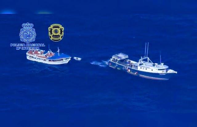 Policía intervino en España pesquero venezolano con más de 4 toneladas de cocaína