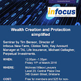YIPs QLD Wealth Creation & Protection Lunchtime Seminar