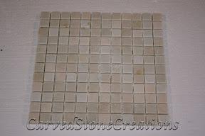 1x1, Flooring, Flooring & Mosaics, Interior, Mosaic, Natural, Quartzite, Stone, Tahitian Pearl, Tile, Tumbled