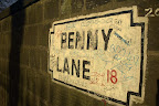 penny lane, liverpool.