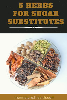 5 Spices for Sugar Substitutes