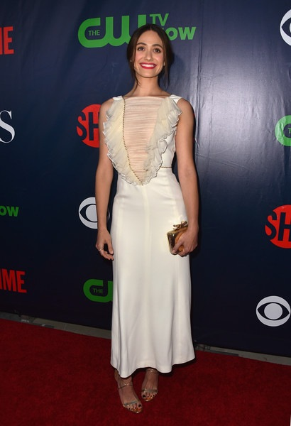 Emmy Rossum attends CBS 2015 Summer TCA party