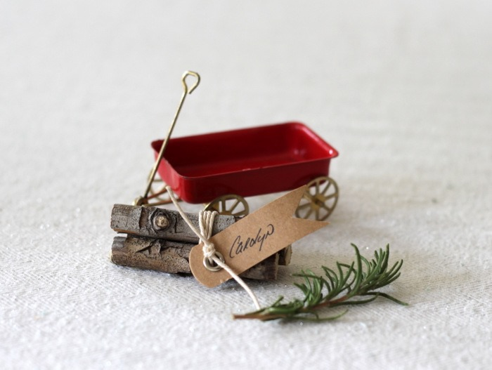 Vintage Wagon & Log Place Cards by homework (carolynshomework (8)
