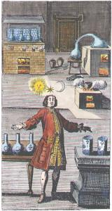 Frontispiece From Cf Sabor Practica Naturae Vera 1721, Alchemical And Hermetic Emblems 1