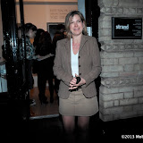 WWW.ENTSIMAGES.COM - Penny Smith   at    HOT VALVE LEAK: Visual Ramblings of Vic Reeves - private view at The Strand Gallery  London February 12th 2013                                                   Photo Mobis Photos/OIC 0203 174 1069