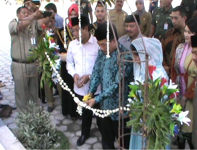 Moeldoko Bangun Masjid Megah di Kampung Halaman