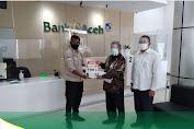 Bank Aceh Syariah Dukung Program Pemerintah Gebrak Masker