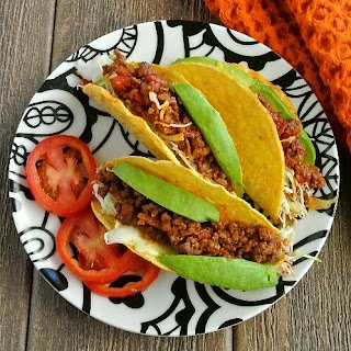 Mexican Sloppy Joe Tacos.