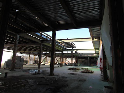 Atrium as viewed from Middle School area