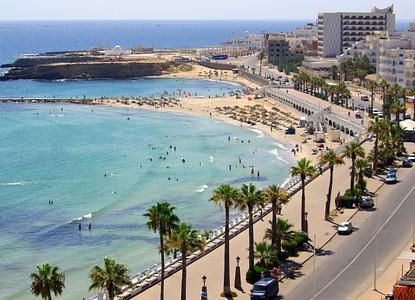 A sunny day in Monastir, Tunisia