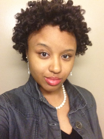Perm Rod Set On Very Short Natural Hair