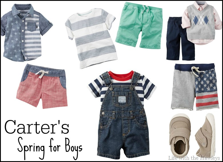 Carters Spring for Boys
